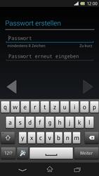 Sony Xperia Z - Apps - Konto anlegen und einrichten - 8 / 17
