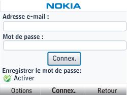 Nokia Asha 302 - E-mail - Configuration manuelle - Étape 6