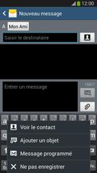 Samsung C105 Galaxy S IV Zoom LTE - MMS - envoi d'images - Étape 9