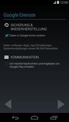 LG D821 Google Nexus 5 - Apps - Konto anlegen und einrichten - Schritt 13