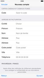 Apple iPhone 6 Plus - Applications - Créer un compte - Étape 21