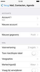 Apple iPhone 5 iOS 9 - E-mail - Handmatig instellen - Stap 24