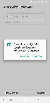 Samsung Galaxy A6 - E-mail - handmatig instellen (outlook) - Stap 11