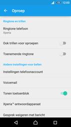 Sony Xperia Z3+ (E6553) - voicemail - handmatig instellen - stap 5
