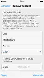 Apple iPhone 5 iOS 7 - apps - account instellen - stap 18