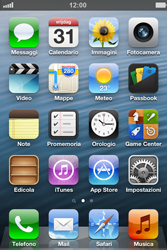 Apple iPhone 4 - WiFi - Configurazione WiFi - Fase 1