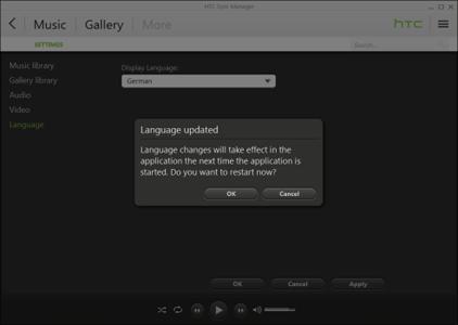 HTC One M8 - Software - Installieren von Software zur PC-Synchronisierung - Schritt 12