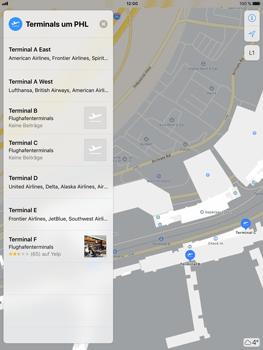 Apple iPad Air 2 - iOS 11 - Indoor-Karten (Einkaufszentren/Flughäfen) - 11 / 12