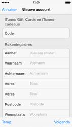 Apple iPhone 5s - Applicaties - Account instellen - Stap 20