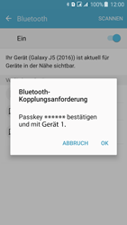 Samsung J510 Galaxy J5 (2016) DualSim - Bluetooth - Geräte koppeln - Schritt 9