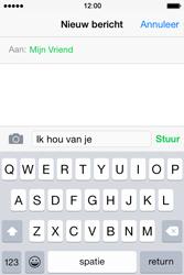 Apple iPhone 4S iOS 8 - MMS - hoe te versturen - Stap 7