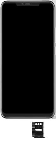Huawei Mate 20 Pro - Toestel - Simkaart plaatsen - Stap 6