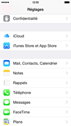 Apple iPhone 5c iOS 8 - E-mail - configuration manuelle - Étape 7