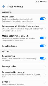 Huawei Mate 9 Pro - Netzwerk - Netzwerkeinstellungen ändern - Schritt 5