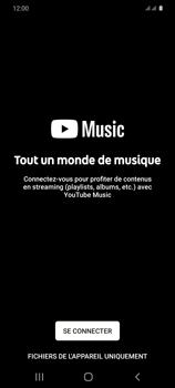 Samsung Galaxy S20 - Photos, vidéos, musique - Ecouter de la musique - Étape 4