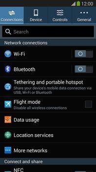 Samsung Galaxy Note III LTE - Internet and data roaming - Disabling data roaming - Step 4