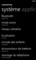 Nokia Lumia 520 - Internet - Désactiver du roaming de données - Étape 4