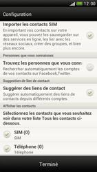 HTC One S - Contact, Appels, SMS/MMS - Ajouter un contact - Étape 4