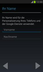 Samsung I8190 Galaxy S3 Mini - Apps - Konto anlegen und einrichten - Schritt 5