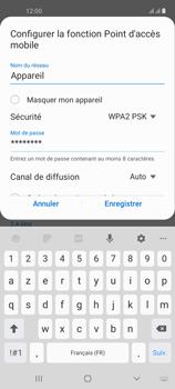 Samsung Galaxy A21s - Internet et connexion - Partager votre connexion en Wi-Fi - Étape 9