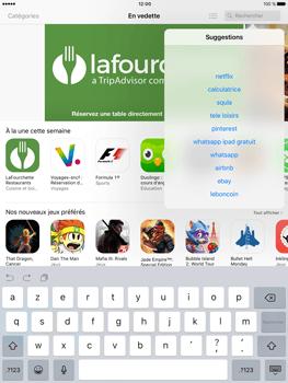 Apple iPad Air 2 iOS 10 - iOS features - Supprimer et restaurer les applications iOS par défaut - Étape 8