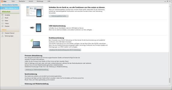 Samsung Galaxy S6 - Software - Installieren von Software zur PC-Synchronisierung - Schritt 9