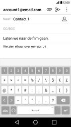 LG LG X Screen - e-mail - hoe te versturen - stap 10