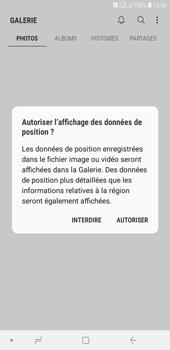 Samsung Galaxy J4+ - Photos, vidéos, musique - Envoyer une photo via Bluetooth - Étape 4
