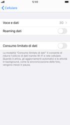 Apple iPhone SE (2020) - Rete - Come attivare la connessione di rete 4G - Fase 5