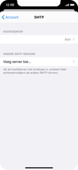 Apple iPhone X - iOS 13 - E-mail - Handmatig instellen - Stap 23