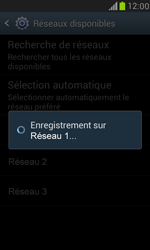 Samsung Galaxy S III Mini - Réseau - Sélection manuelle du réseau - Étape 10