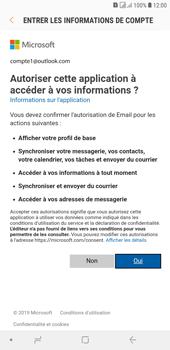 Samsung Galaxy J4+ - E-mails - Ajouter ou modifier votre compte Outlook - Étape 9
