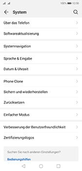 Huawei P20 - Android Pie - Gerät - Zurücksetzen auf die Werkseinstellungen - Schritt 4