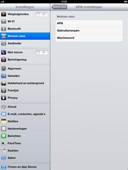 Apple iPad 4th generation - Internet - handmatig instellen - Stap 6