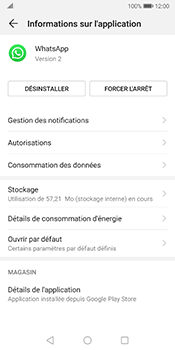 Huawei Mate 10 Pro - Android Pie - Applications - Comment désinstaller une application - Étape 6