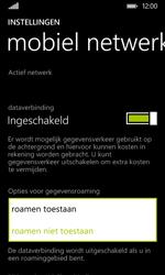 Nokia Lumia 530 - Internet - Internet gebruiken in het buitenland - Stap 8