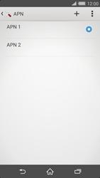 Sony Xperia Z2 - MMS - Configurazione manuale - Fase 16