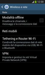 Samsung Galaxy Ace III - Internet e roaming dati - Disattivazione del roaming dati - Fase 5