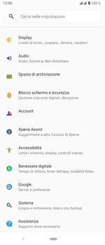Sony Xperia 5 - Software - Installazione degli aggiornamenti software - Fase 4
