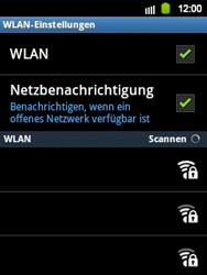 Samsung S5360 Galaxy Y - WLAN - Manuelle Konfiguration - Schritt 7