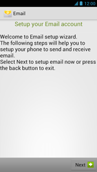 Alcatel One Touch Idol - E-mail - manual configuration - Step 9