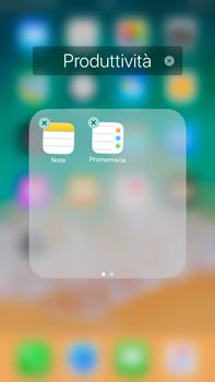 Apple iPhone 6s Plus iOS 11 - Operazioni iniziali - Personalizzazione della schermata iniziale - Fase 6