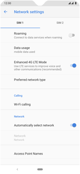 Nokia 7.2 - Network - Manual network selection - Step 8