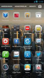Alcatel One Touch Idol - Apps - Einrichten des App Stores - Schritt 3