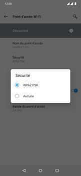 OnePlus 7 Pro - Internet et connexion - Partager votre connexion en Wi-Fi - Étape 10