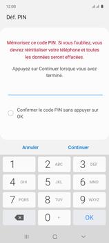 Samsung Galaxy A71 - Sécuriser votre mobile - Activer le code de verrouillage - Étape 8