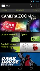 Motorola RAZR i - Apps - Konto anlegen und einrichten - 21 / 22
