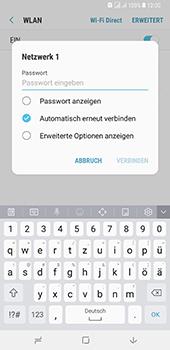 Samsung Galaxy A8 Plus (2018) - WLAN - Manuelle Konfiguration - Schritt 8