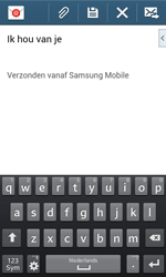 Samsung I8200N Galaxy S III Mini VE - E-mail - Hoe te versturen - Stap 10