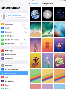 Apple iPad Air - iOS 11 - Hintergrund - 6 / 8